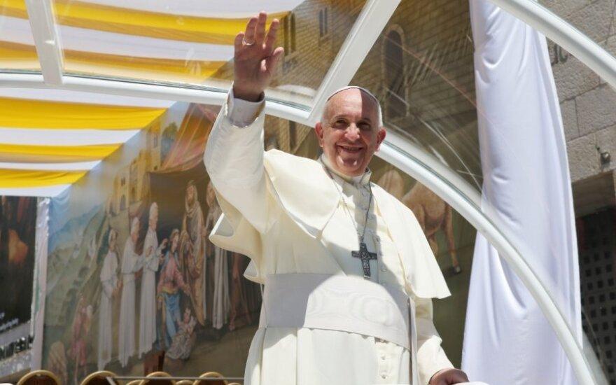 Popiežius Pranciškus išsirinko valstybę Europoje, kurią visų pirma aplankys