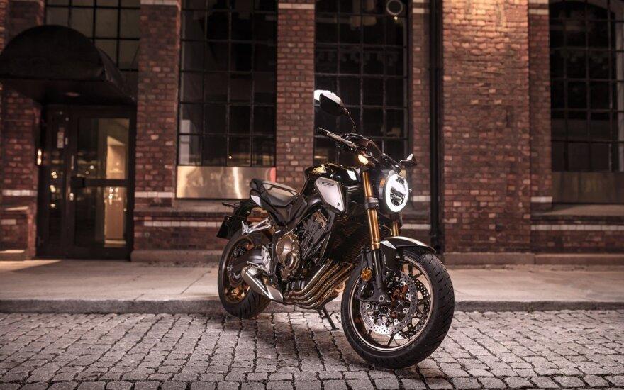 """""""Honda"""" motociklininkams """"Moto Days"""" metu pristatys 5 naujus modelius"""