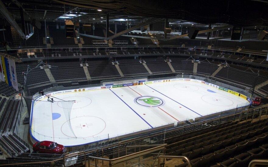 """""""Žalgirio"""" arena ruošiasi pasaulio ledo ritulio čempionatui ir Eurolygai"""