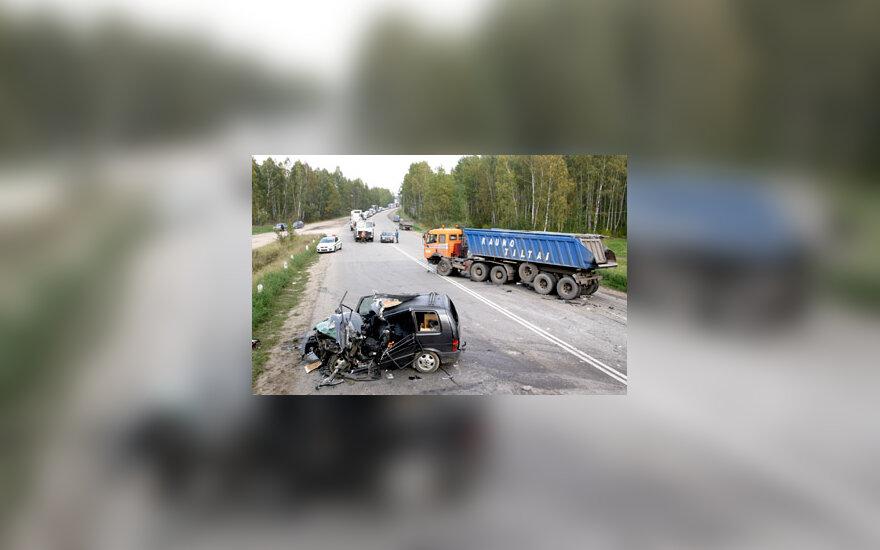 Autoavarija Kaune