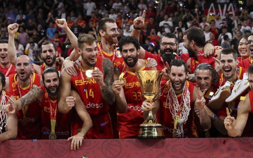 Ispanijos krepšinio rinktinė