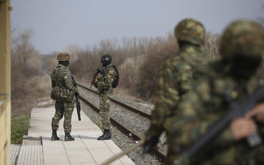 Žiniasklaida: Turkija ruošiasi uždaryti sienas su Graikija ir Bulgarija