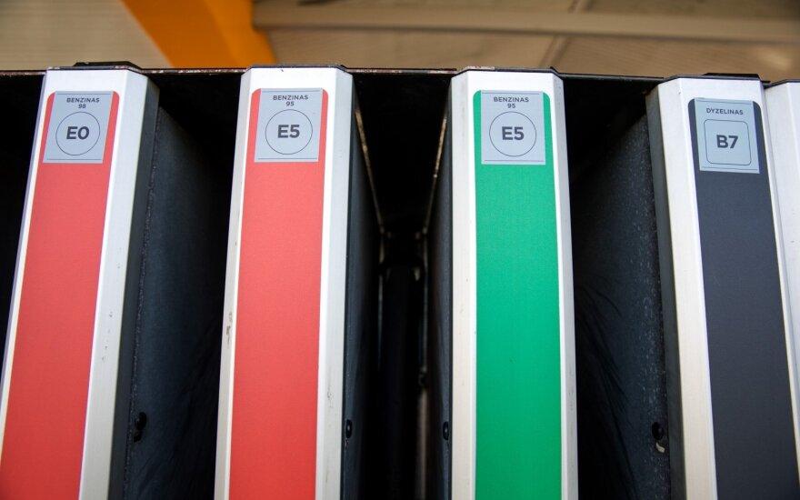 Nuo rytdienos - degalų ženklinimo pokyčiai degalinėse
