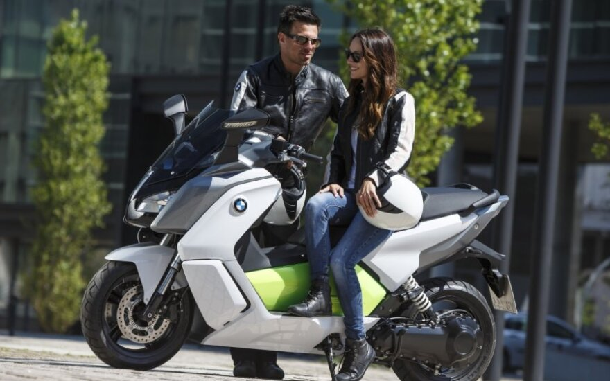 BMW C Evolution motoroleris