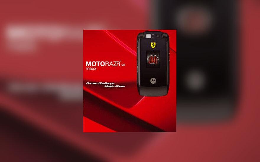 """Motorola V6 Ferrari"""