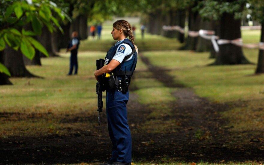 Naujojoje Zelandijoje prasidėjo pirmųjų atakos aukų laidotuvės