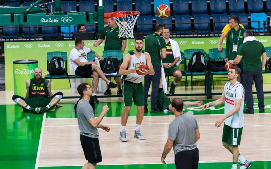 Team Lithuania at Rio Olympics: Basketball