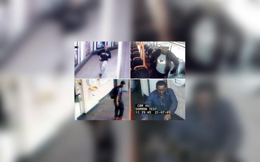 Londono teroro aktų įtariamieji