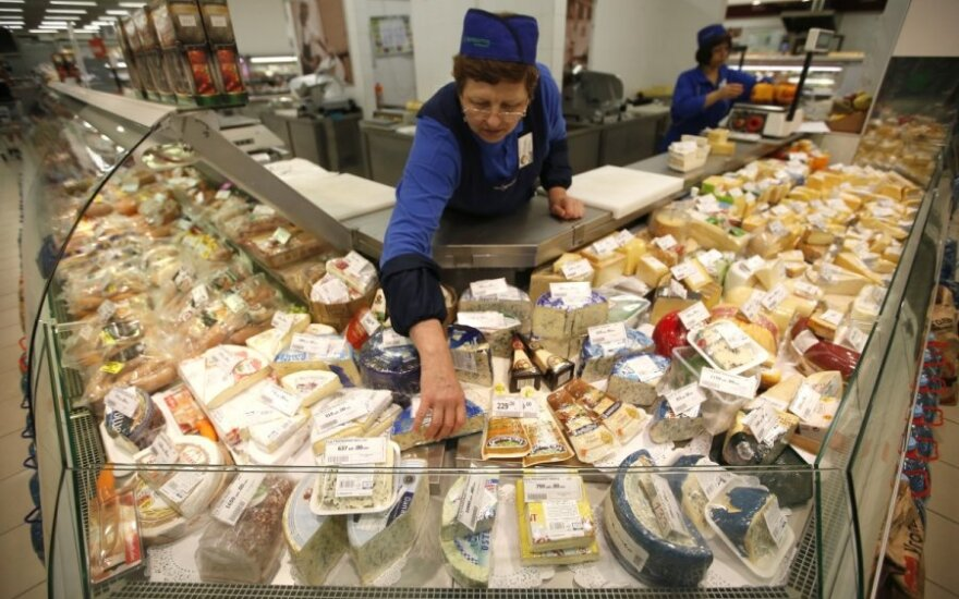 Belarus and Kazakhstan still accept Lithuanian products