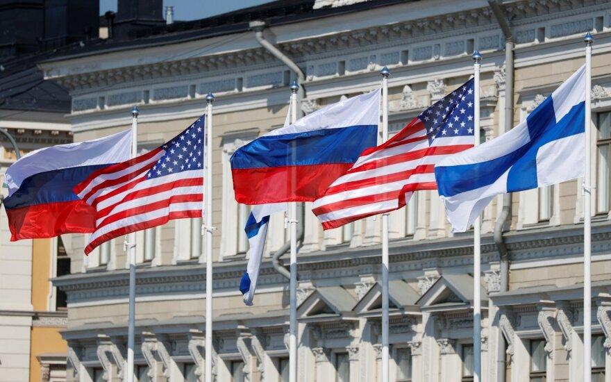 Helsinkis priima JAV ir Rusijos lyderius