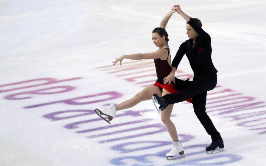 Lietuvos ledo šokių pora Allison Reed ir Saulius Ambrulevičius