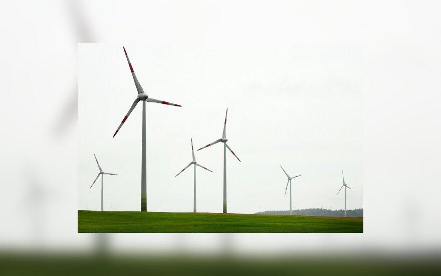 Į vėjo energetiką planuojama investuoti 310 mln. Lt