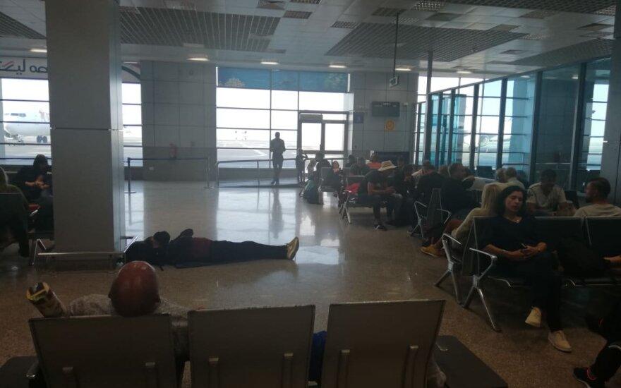 Lietuviai laukia skrydžio iš Hurgados į Vilnių