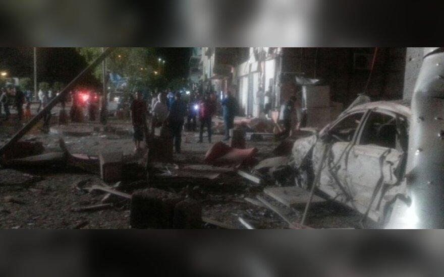 Irake per aviacijos smūgius žuvo IS lyderio padėjėjas