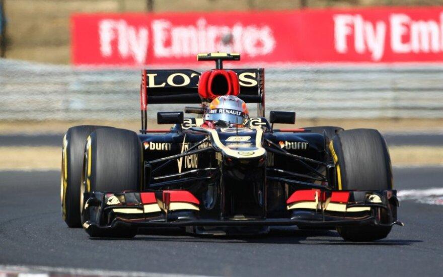 """Romainas Grosjeanas (""""Lotus"""")"""