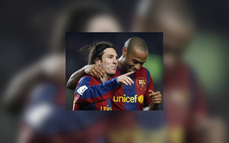 "Lionelis Messi ir Thierry Henry (""Barcelona"")"