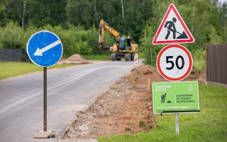 Vilniuje – papildomi kilometrai asfalto: vietomis jis bus dengiamas vilniečiams <em>susimetus</em> su savivaldybe