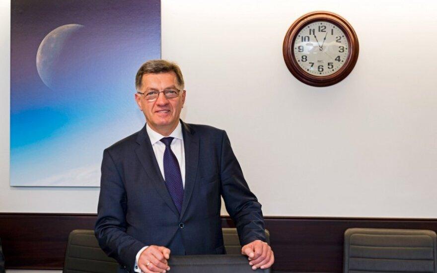 PM Alrgirdas Butkevičius at NASA  Photo Ludo Segers