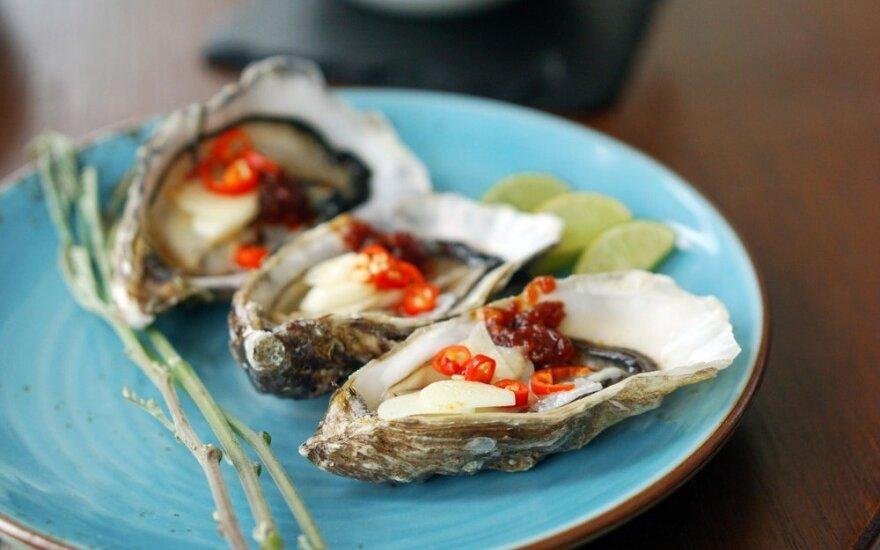 Ką būtina žinoti ruošiantis skanauti austrių?