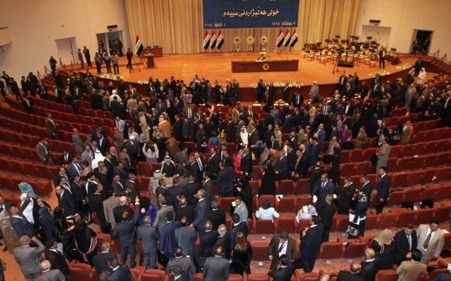Irako parlamentas nurodė perskaičiuoti visuotinių rinkimų rezultatus