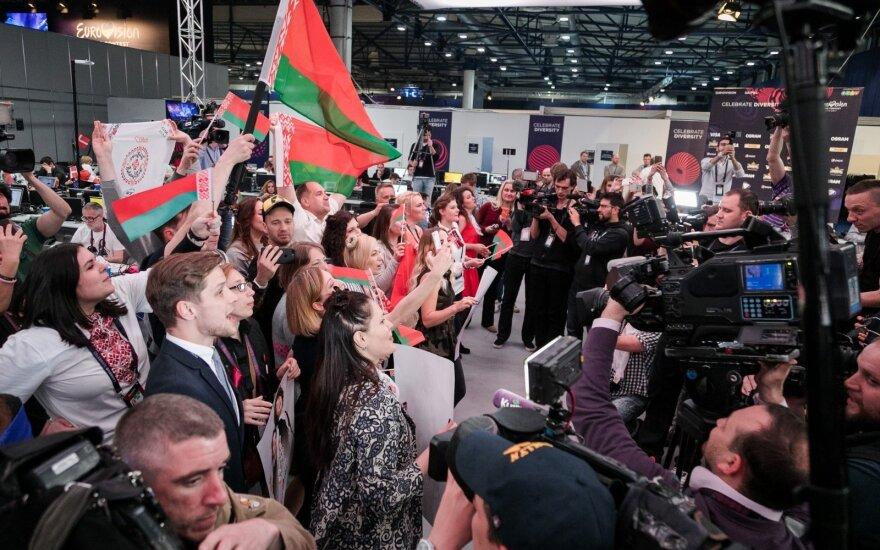 """""""Eurovizijos"""" spaudos centras Kijeve"""