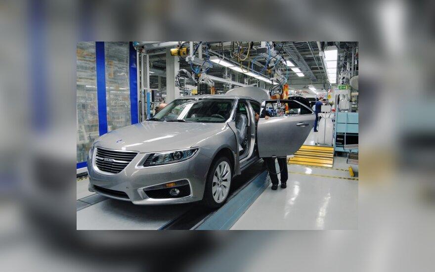 """""""Saab"""" gamybos Rusijoje ateitis paaiškės per mėnesį"""