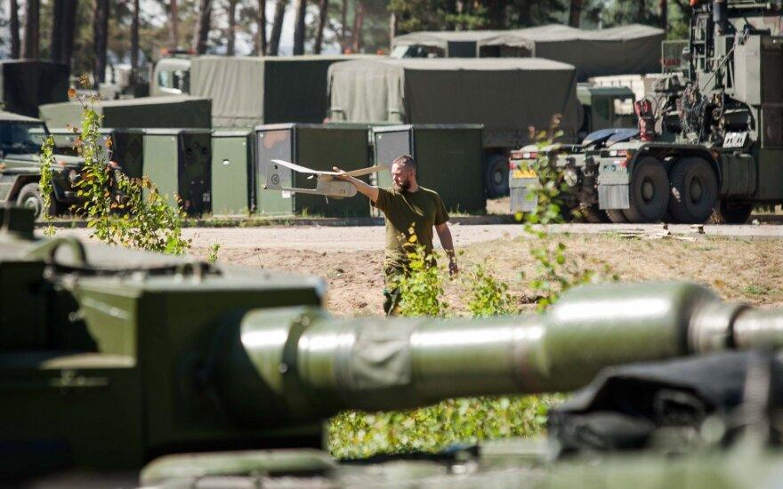 8 NATO battalion troops in Lithuania test positive for coronavirus