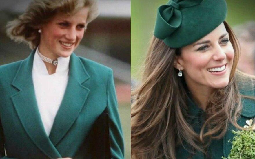 Princesė Diana ir Kate Middleton