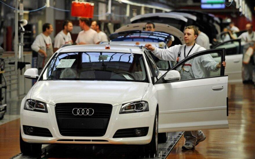 Audi gamyba