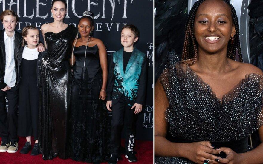 Angelina Jolie su vaikais, Zahara Marley Jolie-Pitt