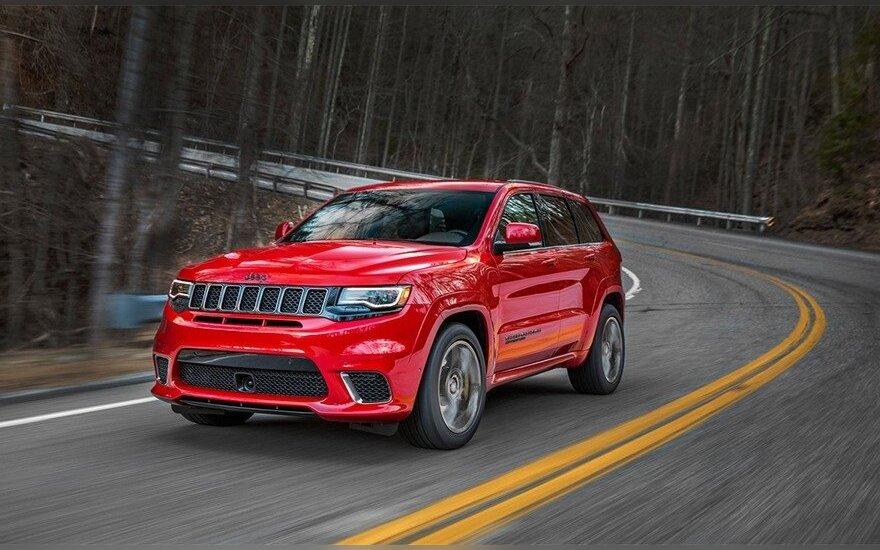 """Jeep Grand Cherokee Trackhawk"""