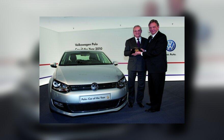 """Volkswagen Polo"" įteikta Europos ""Metų automobilio 2010"" karūna"