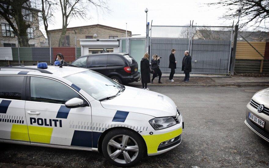 Danijos policija sulaikė keturis žmones, įtariamus mėginimu padegti Turkijos ambasadą