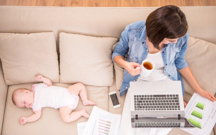 Psichologė: dirbančių tėvų savijauta itin priklauso ir nuo darbdavio