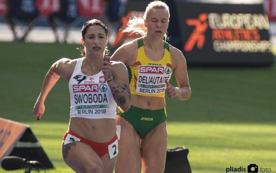 Europos lengvosios atletikos čempionatas: Karolina Deliautaitė