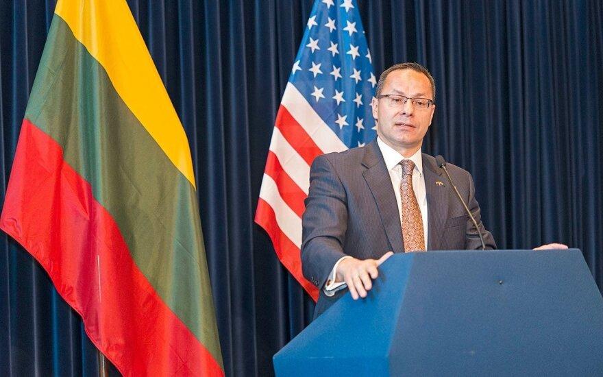 Lithuanian Ambassador to the USA, Žygimantas Pavilionis Photo Ludo Segers
