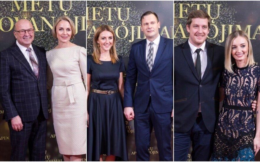 LRT apdovanojimų svečiai