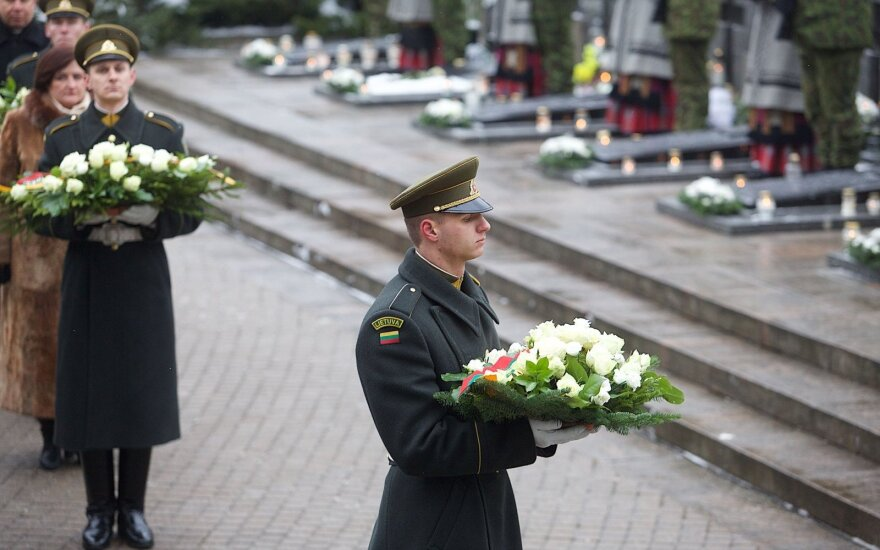 Foreign presidents pay tribute to Lithuania's January 13 victims
