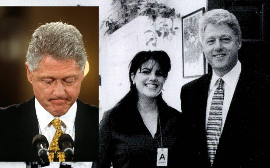 Billas Clintonas ir Monica Lewinsky