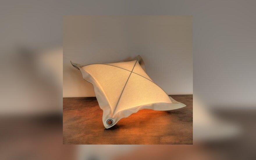 L.Kutavičiaus sukurta šviečianti pagalv