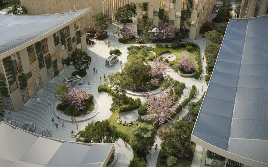"""""""Toyota"""" statys pažangų technologijų miestą – laboratoriją"""