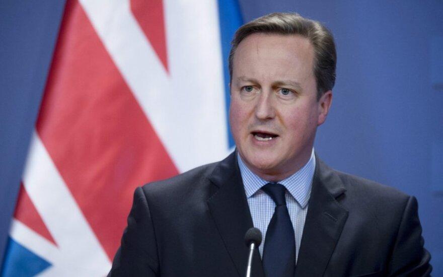 D. Cameronas pasirengęs atmesti blogą ES susitarimą dėl D. Britanijos ateities