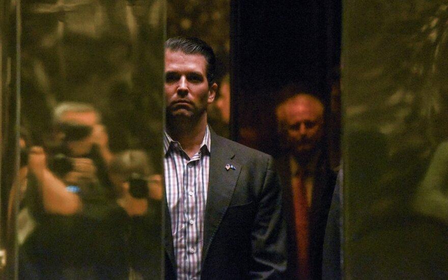 D. Trumpo sūnus susitiko su rusų advokate, kad gautų informacijos apie H. Clinton