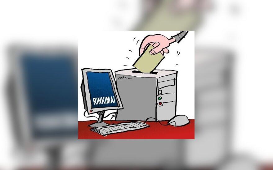 Balsavimas internetu grėsmingesnis nei balsavimo teisė moterims?