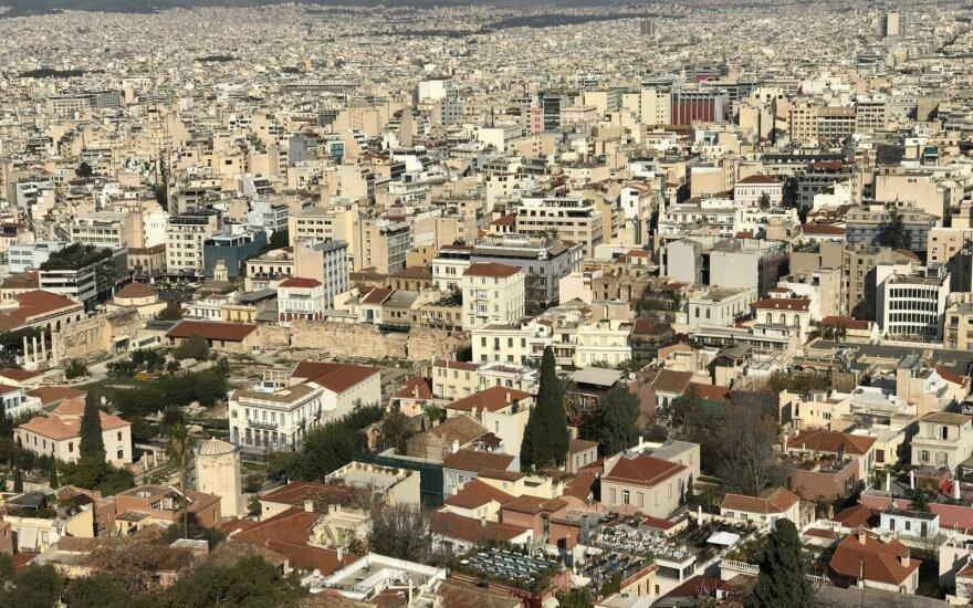 Graikijos ekonomika trečiąjį ketvirtį sulėtėjo