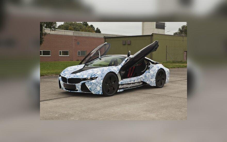 Elektra įkraunamo hibridinio sportinio BMW vizija taps realybe