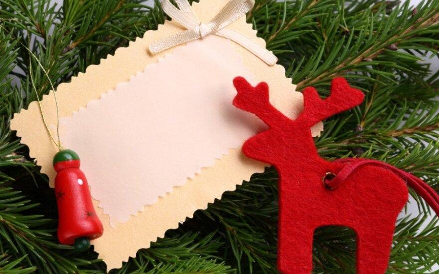 Kalėdiniai sveikinimai: kas tiks vaikystės draugui, tikrai netiks bosui