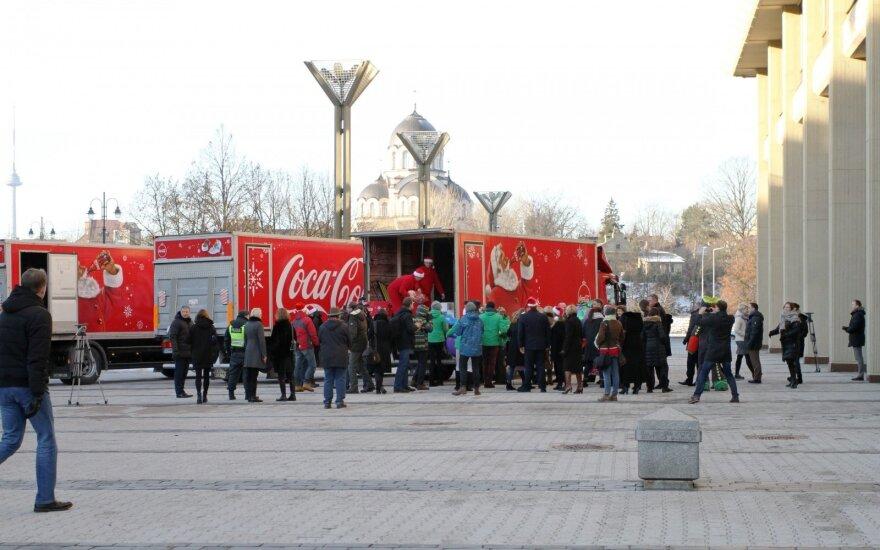 Kalėdų karavanas pradėjo savo kelionę