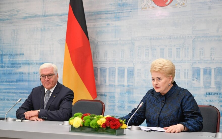 Frank-Walter Steinmeier, Dalia Grybauskaitė