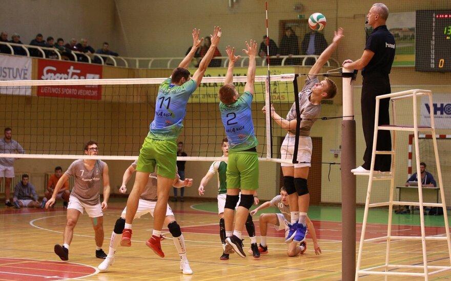 LTF Didžiosios taurės dvikova / FOTO: Kastytis Timukas